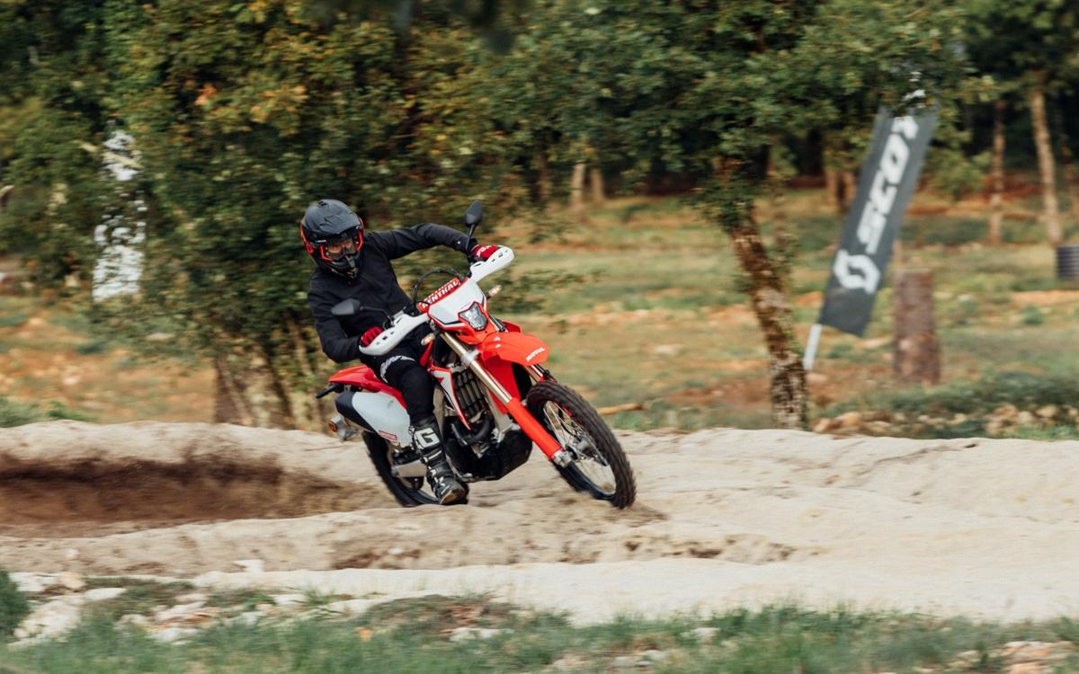David Fretigne stage en groupe enduro