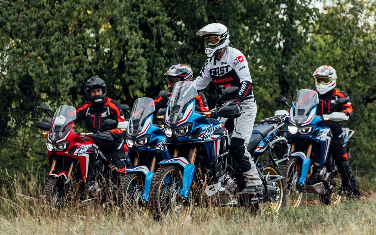 location Africa Twin david Fretigné