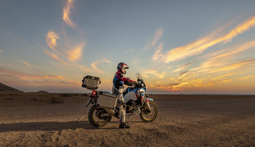 maxi-trail Africa Twin adventure sports 2020 en location chez david fretigné