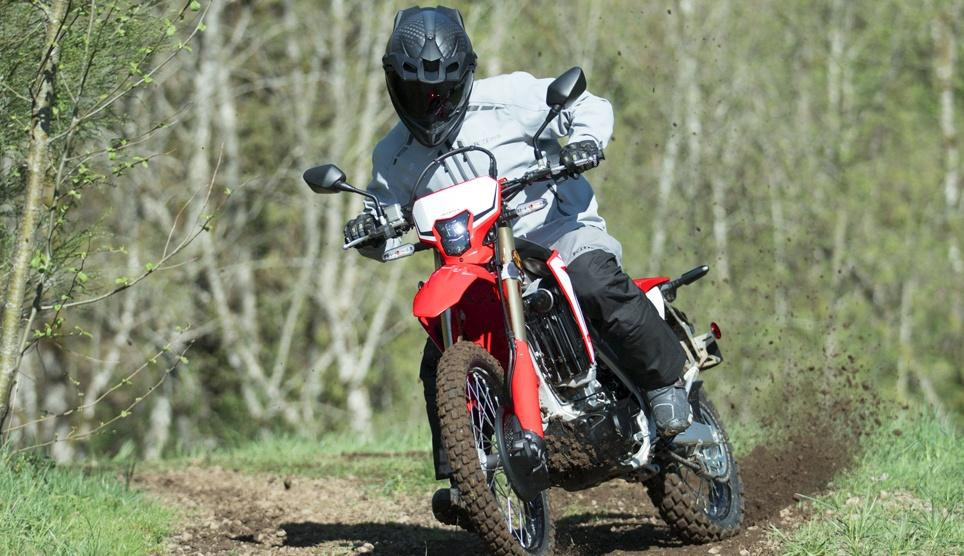 CRF450L enduro formation david frétigné Honda off road center